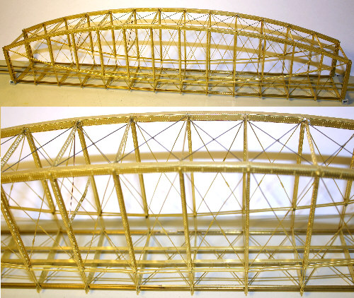 Used Elliptical For Sale >> Etched Brass Lenticular Truss Bridge