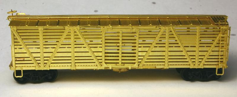 Etched Brass Stock Car Kits