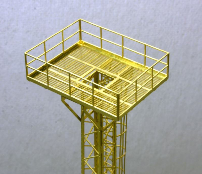 Etched Brass Yard Tower